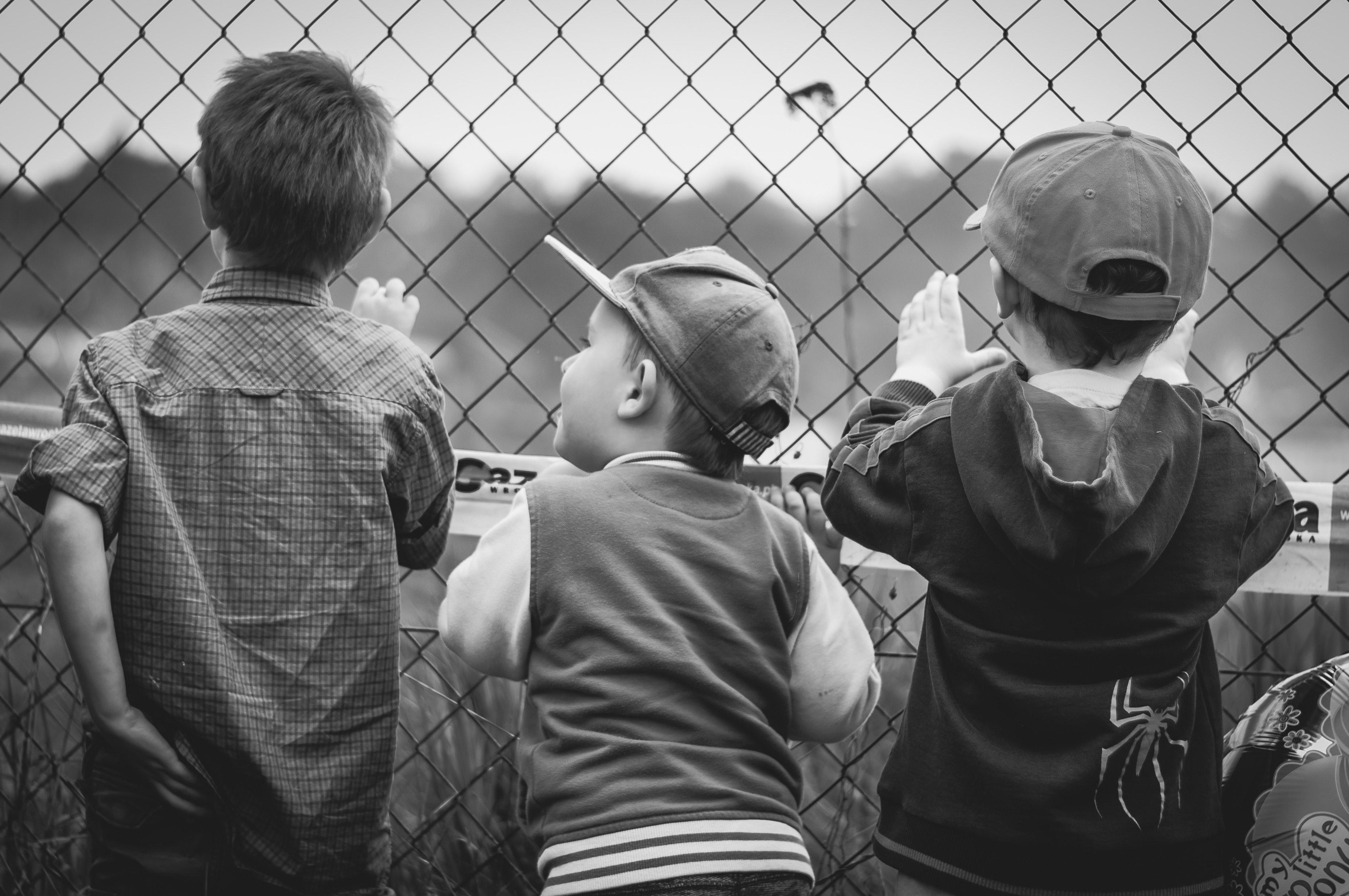 black-and-white-boys-children-277477